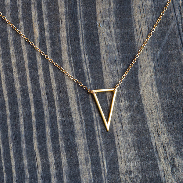 Isosceles Triangle Necklace