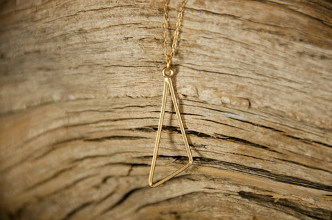 Obtuse Triangle Necklace