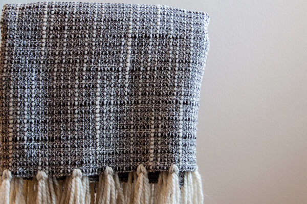 Wool Boucle Throw