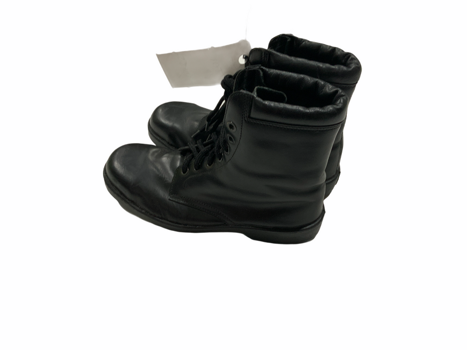 Totector Leather Black Boots Steel Toe Cap TT01 Grade A