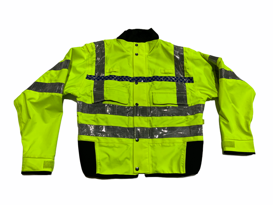 Hi Vis Waterproof Gore-Tex Bomber Jacket Recovery Security Dog Handler HVGBJ6A