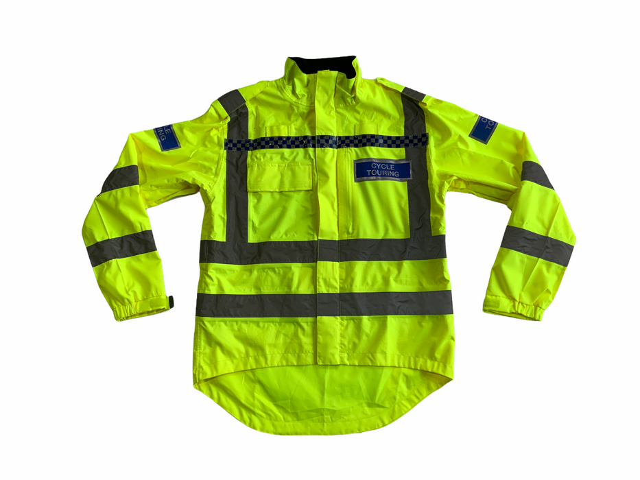 Endura Hi Vis Waterproof Cycling Jacket with Scooped Back HVCC07A