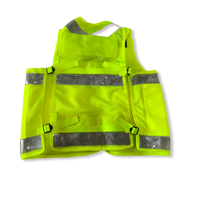 New Hi Vis Arktis Tac Vest Traffic Utility Equipment Over Jacket HV15