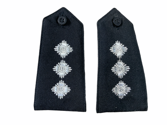 Obsolete Original Issue Chief Inspector Police Rank Epaulettes Grade A