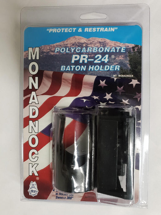 New Ex Police Monadnock PR-24 Polycarbonate Side Handle Baton Holder 8 Position