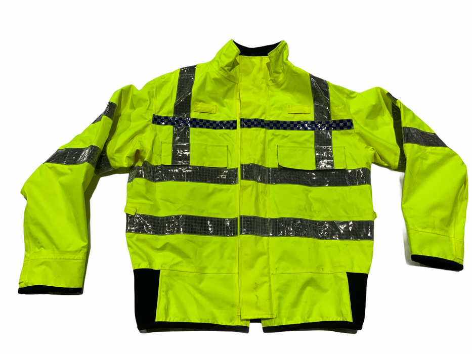 Hi Vis Waterproof Gore-Tex Bomber Jacket Recovery Security Dog Handler HVGBJ5A