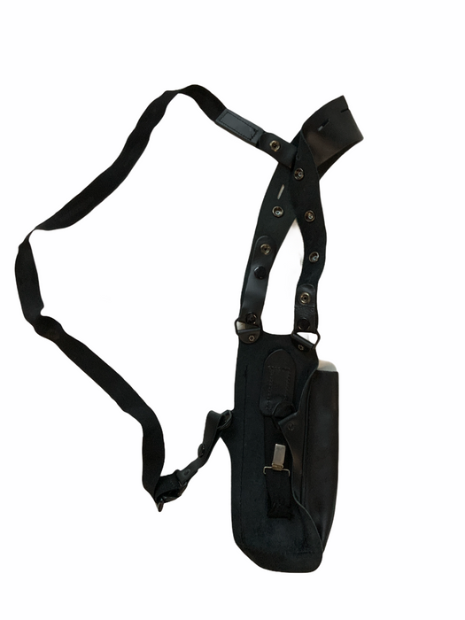 Black Covert Harness Covert Vest With Radio Pouch OCH24