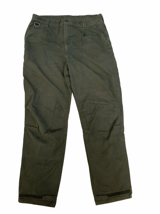 KIT DESIGN Men's Black Tactical Ripstop Cargo Trousers Style 3 Grade B