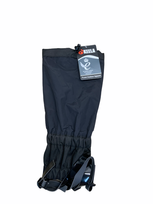 New Keela Gaiters Black