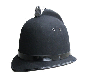 Obsolete Ex Police Custodian Coxcomb Bobby Helmet Fancy Dress Theatre Collectors