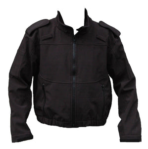 Ex Police Tactical Black Full Zip Uniform Softshell Jacket Security Grade A