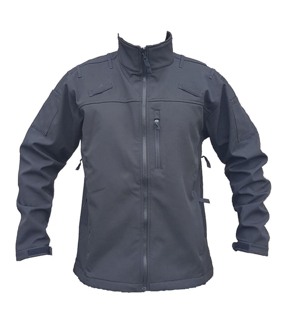 Keela Zenith Pro Black Tactical Softshell Jacket Grade A
