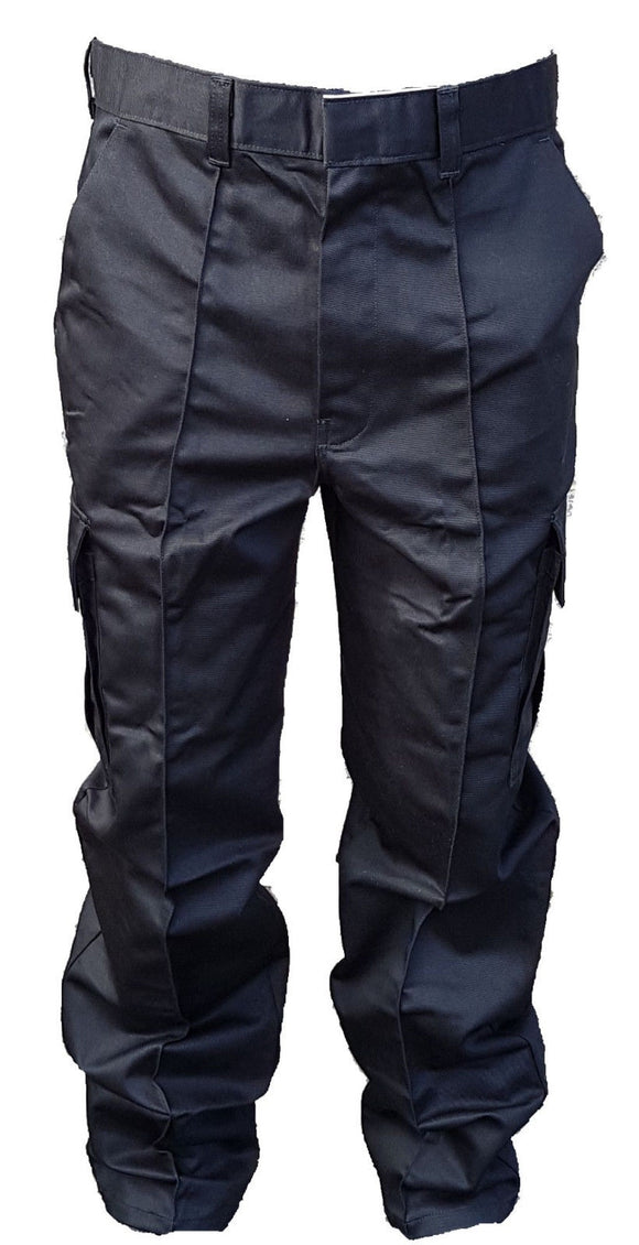 New Police Male Cargo Trousers Black Tactical Patrol Security Dog Handler D4