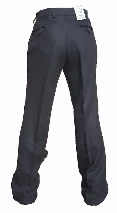 Brand New Genuine  Female Black 100% Wool British Uniform Trousers W1N