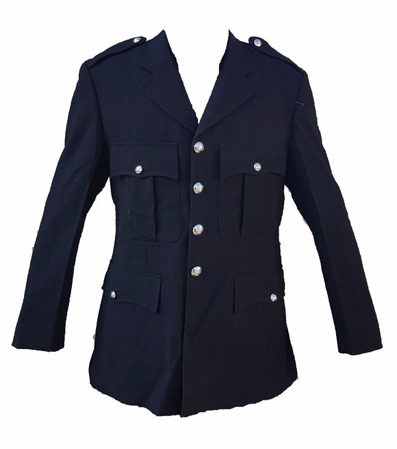 Genuine Police Dress Tunic Jacket Ideal For Theatre Fancy Dress Collector Type 2