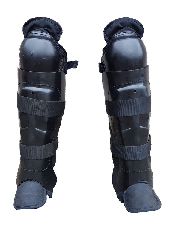 Riot Gear Knee & Lower Leg Shin Guards Paintballing Airsoft RG002