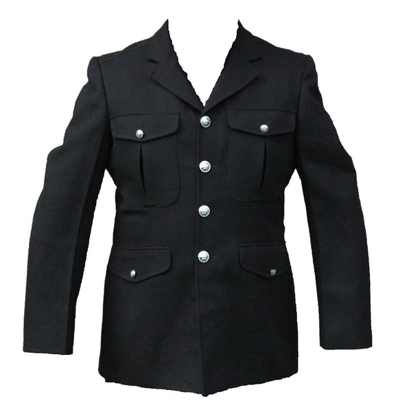Genuine Police Mens Dress Tunic Jacket Theatre Fancy Dress Collectors Type 1