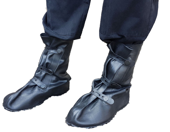 New Police CBRN Airboss Defence ALO NBC Protective Boots Lightweight Overboots