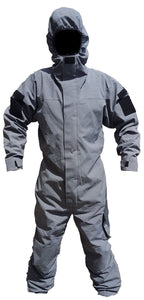 New Dark Grey Remploy Swift Responder 3 Peeler Coverall Army Security RC04GN