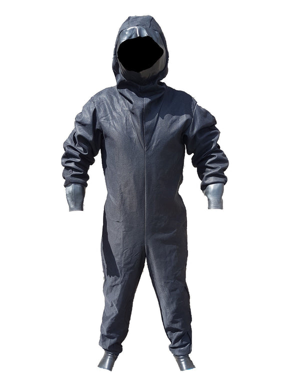 New Black CBRN Remploy Britannia Rubber Fetish Under-Coveralls