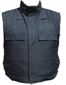 Meggitt Stab & Bullet Proof Ballistic Vest Black Security Body Armour