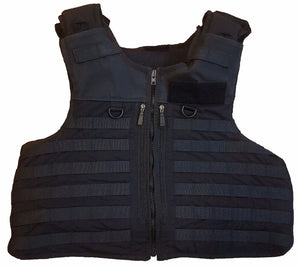 Molle Tactical Black Hawk Body Armour Stab Vest Bullet Proof Grade B