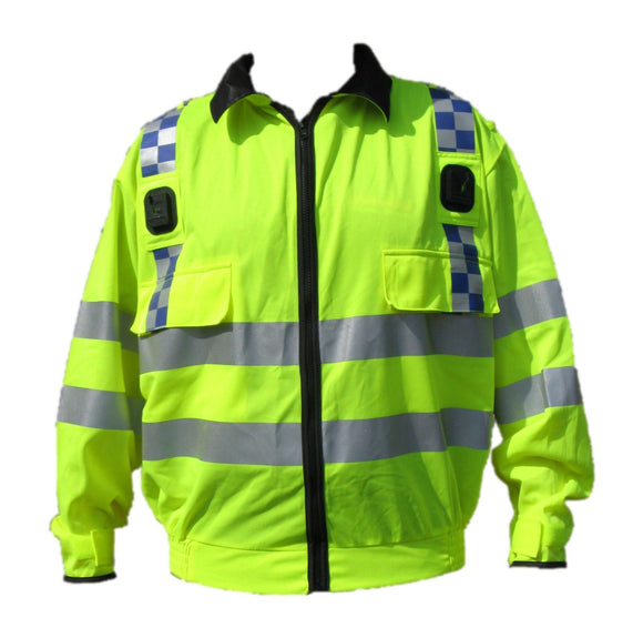 Job Lot x 5 Medium Ex Police Hi Viz Lightweight Blouson Bomber Jacket Grade A