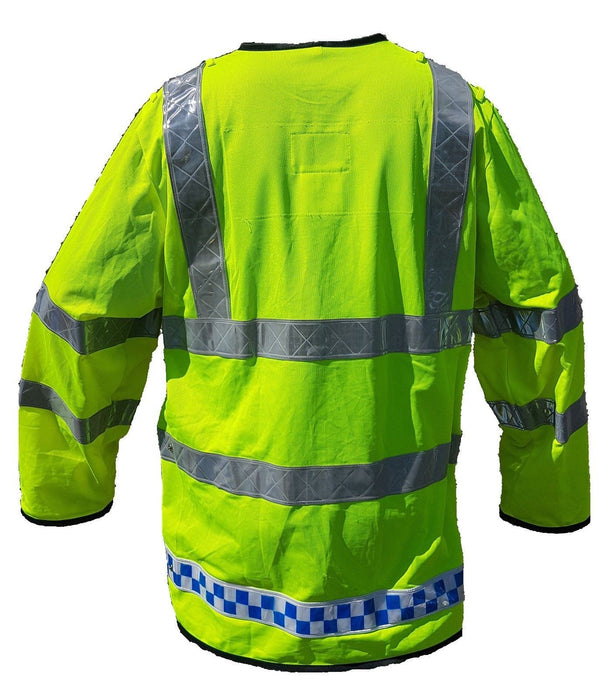 Hi Viz Vis Lightweight Reflective Traffic Overcoat Walking Recovery LW05A