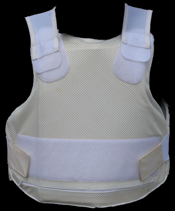 White Sat Sioen Covert Body Armour Stab Bulletproof Vest Grade B