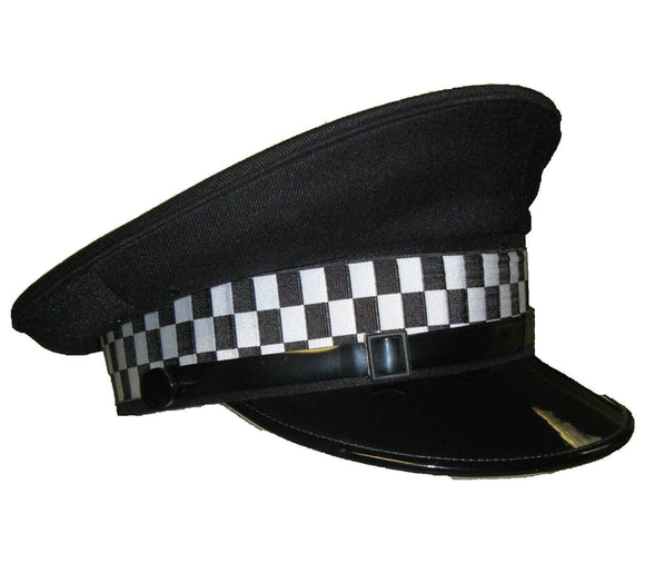 Brand New Genuine Flat Peaked Cap