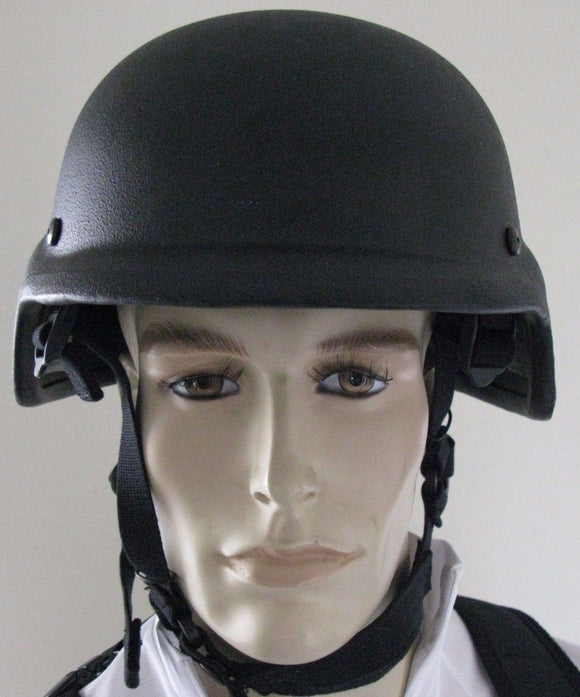 New United Shield International PASGT Ballistic Helmet, NIJ Level II & IIIA