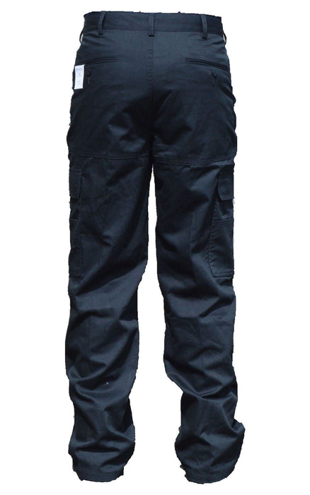 New Male Cargo Trousers Black Tactical Patrol Dog Handler D3N