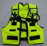 Ex Police Hi Vis Remploy Frontline Hydration Tactical Vest MK2 Pouch And Bladder