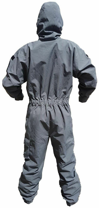 Dark Grey Remploy Swift Responder 3 Peeler Coverall Army Grade B
