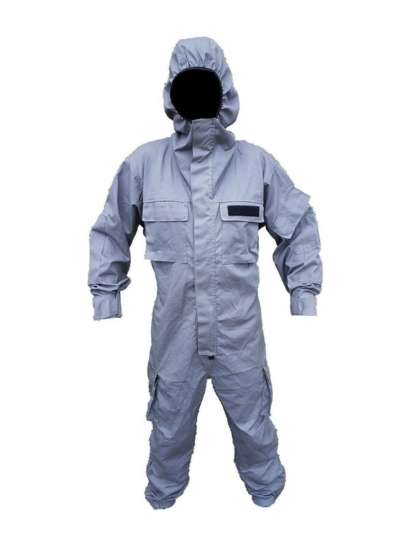 Grey Remploy 'Civil Responder 1' Peeler Coverall Army Security Grade B