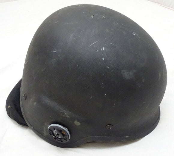 Ex Police Black F6 PASGT Ballistic Helmet Made With Kevlar NIJIIIA Large OH24