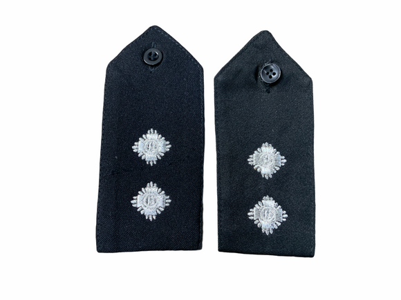 Obsolete Original Issue Inspector Police Rank Epaulettes Grade A