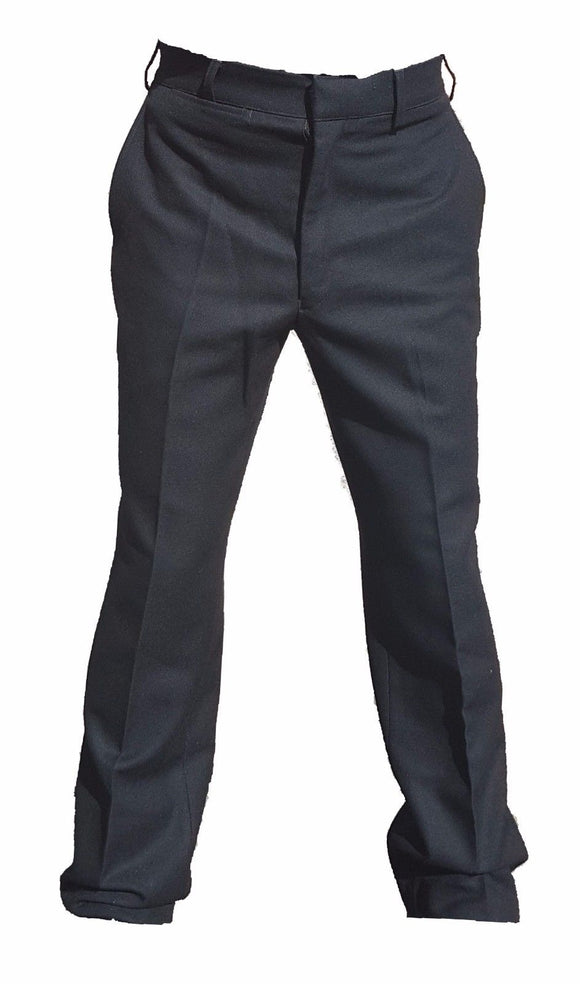 New Police Male Uniform Trousers Black 100% Wool