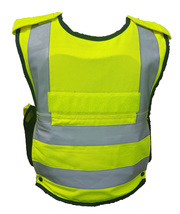Mehler Hi Vis Overt Body Armour Ballistic Stab Vest For Security MEA04A