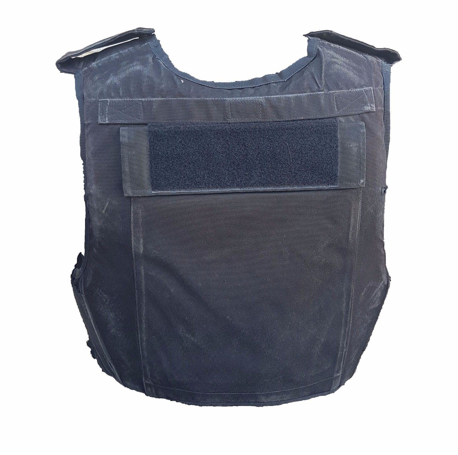 Ex Police Tactical Black Hawk Body Armour Stab Vest Spike Bullet Proof B