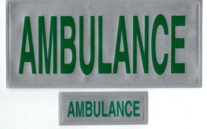 Encapsulated Reflective Ambulance Badge