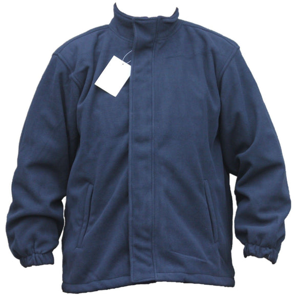 New Blue Amberlake Fleece Jacket With Mesh Lining And Internal Pockets Big Sizes