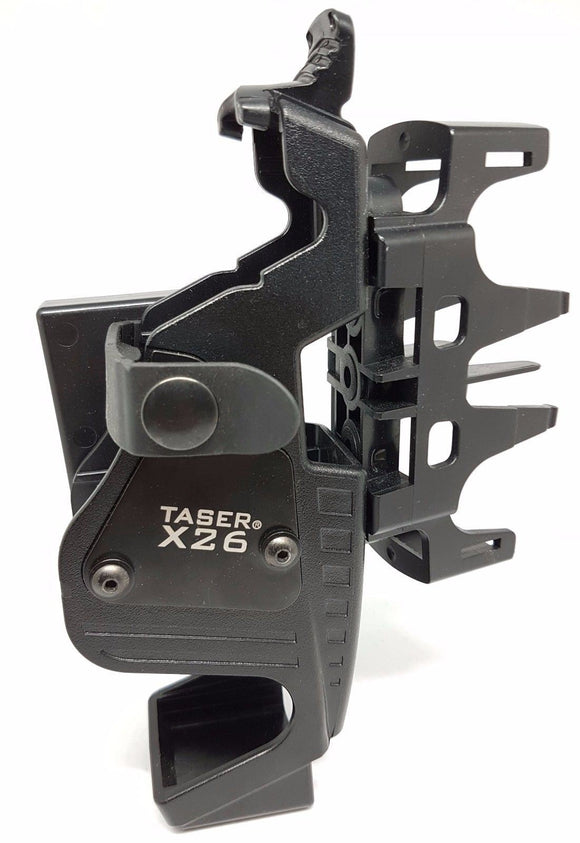Taser X26 Exoskeleton Holster with Twin Cartridge Adaptor