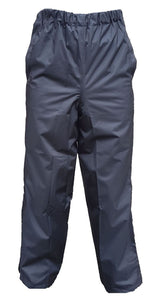 GORE-TEX Black Waterproof Overtrousers
