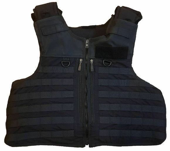 Molle Tactical Black Hawk Body Armour Cover Vest Grade B !COVER ONLY!