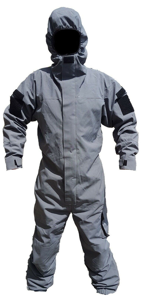 Dark Grey Remploy Swift Responder 3 Peeler Coverall Army Grade A