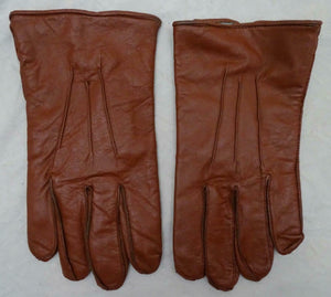 Butts Of England Brown Leather Gloves Security GLV16