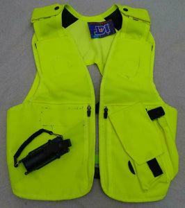 New Hi Viz Tactical Load System Tac Vest Security Dog Handler XLarge/Reg OHVTV12