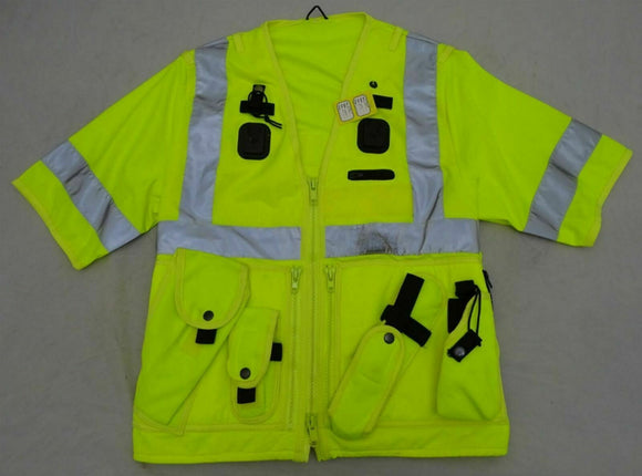 Ex Police Hi Viz Arktis Tactical Vest Security Marshal Dog Handler OHVTV29