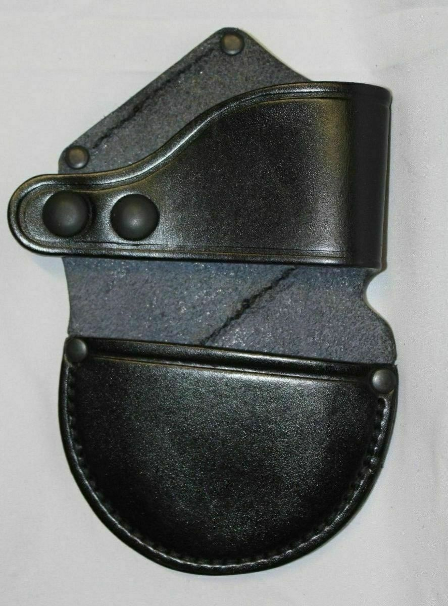 RCP 7 Leather Handcuff Holder Pouch For Rigid Handcuffs TCH Hiatts